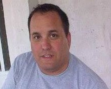 Federico Fiscina, brigadista de la empresa PAE, fallecido en servicio.