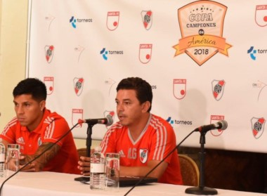 Gallardo habló en conferencia desde Miami: