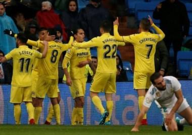 Sigue en crisis: Real Madrid perdió con Villarreal en casa y queda colgando en la zona de Champions.