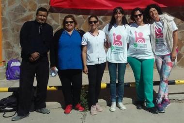 La realización del encuentro fue exitosa y en la organización participó el equipo de salud del Hospital local.