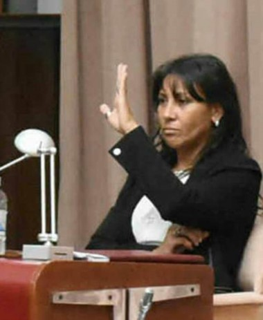 """""""No hay tiempo para reclamos"""", dice Torres Otárola."""