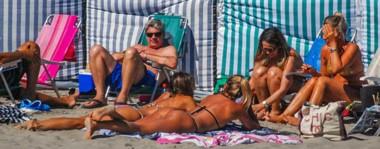 Las costas de la ciudad del golfo estuvieron ayer colmadas de veraneantes que disfrutaron del mar y la arena. Hoy no será distinto ya que se espera máxima de  30º  en toda la región.