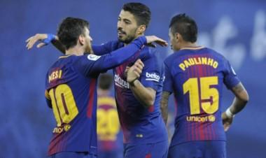 Messi marcó un golazo en la victoria del Barcelona ante Real Sociedad.