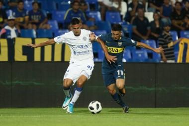 Boca no hizo pie en Mendoza y perdió con Godoy Cruz.