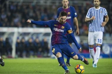 El último fue un golazo de tiro libre de Messi en Anoeta.