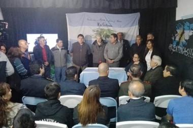 La entrega de la documentación se concretó en Río Gallegos.