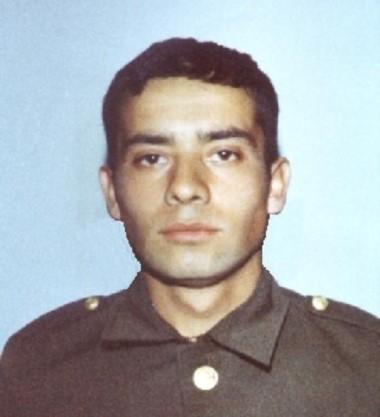 Imagen  del Soldado José  Honorio  Ortega