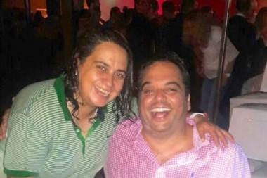 Triaca con Sandra Heredia, la que dio inicio a un escándalo que no termina.
