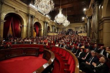 Los independentistas consiguen la presidencia del Parlamento de Cataluña.
