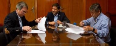 El ministro Mammarelli cumplió agenda en Buenos Aires estos días y selló el acuerdo de ayuda financiera.