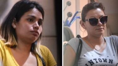 Cintia Susana Jiménez y Amanda Catherine Alayo, denunciantes de los jugadores de Boca.