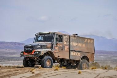El argentino Villagra cuenta con enormes grandes de ganar el Dakar en camiones.