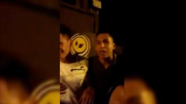 El ex Boca Fernando Tobio, borracho y a las piñas a la salida de un bar: agredió a una mujer.