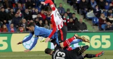 Fue igualdad en dos tantos entre Getafe y Bilbao.