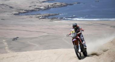 No hubo milagro. Gran actuación de Kevin Benavides, al finalizar 2do el Dakar 2018.