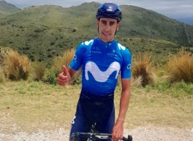 """""""Balito"""" Sepúlveda será el líder del equipo Movistar para la Vuelta a San Juan que se disputará del 21 al 28 de enero."""