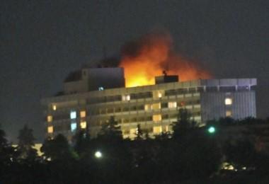Varios muertos en un asalto de milicianos contra el hotel más importante de la capital afgana.