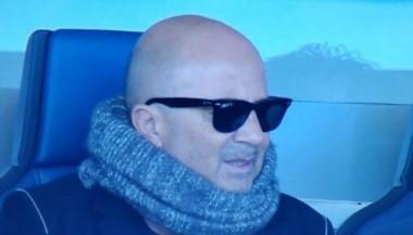 Sampaoli estuvo en Atalanta-Napoli para ver de cerca al Papu Gómez.
