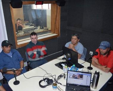 Debate barrial. Una discusión en FM Tiempo Esquel que hizo ruido.