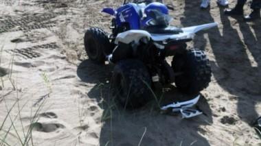 Muerte por un cuatriciclo en Pinamar: el intendente primero indicó que el nene atropellado no iba en el rodado pero luego se desdijo´.