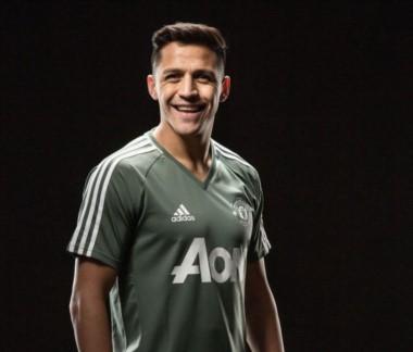 De Londres a Manchester, sin escalas. Alexis Sánchez es nuevo jugador del United.
