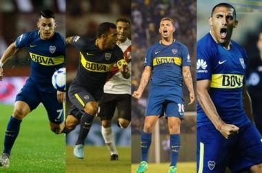 Todo indica que Pavón, Tevez, Cardona y Ábila van a ser los que integrarán el ataque de Boca frente a Colón.