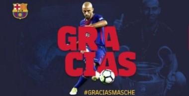 Ahora sí, es oficial que Mascherano deja el Barcelona.