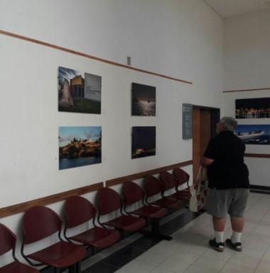 La exhibición comenzó ayer en el hall de ingreso al MEF.