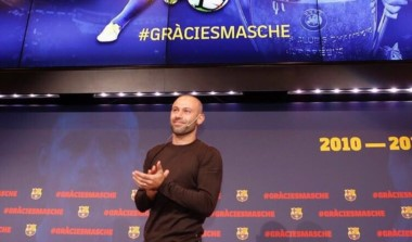 """Mascherano: """"Lo más difícil de jugar en el Barça es que un día te tienes que ir""""."""