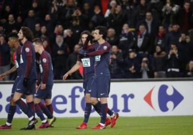 """El """"Flaco"""" Pastore marcó uno de los goles en victoria y clasificación del PSG."""