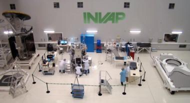 Los laboratorios de INVAP, tecnología de punta en plena Patagonia, ahora con algunas dificultades.