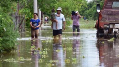 Chaco está sufriendo una de las peores inundaciones de su historia.