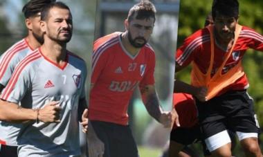 """River concentró a Mora, Pratto y Lollo. Gallardo: """"Zuculini llegará la semana que viene cuando se resuelva todo""""."""