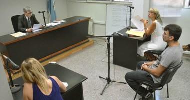 El juez Sergio Pineda dejó preso a Cristian Nieto hasta la audiencia preliminar por violencia de género.