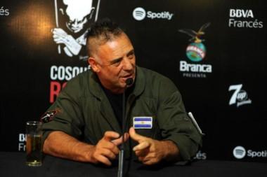 Ricardo Iorio detenido en Tornquist. El líder de Almafuerte acusado de amenazar a un policía con un arma ilegal.