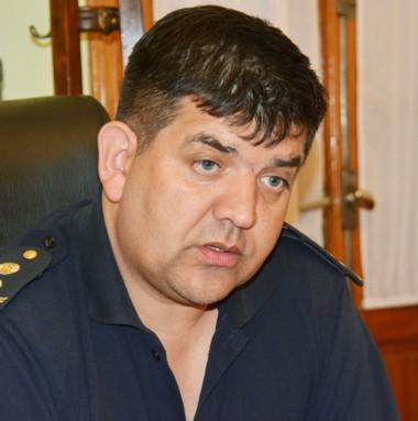 Comisario Felipe González, jefe Unidad Regional Trelew