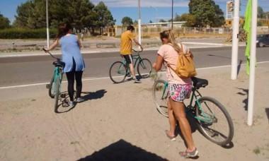 Oferta. Las bicis están disponibles en el Parador Municipal.