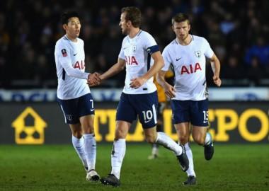 Tottenham no pudo contra el Newport County (2do en la cuarta división inglesa): empató 1-1 con un gol postrero de Harry Kane.