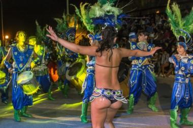 Además del desfile de comparsas y carrozas, Dolavon ofrece un abanico de posibilidades durante las jornadas de carnaval.