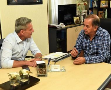 Carlos Linares, se refirió al encuentro mantenido con el gobernador Mariano Arcioni.