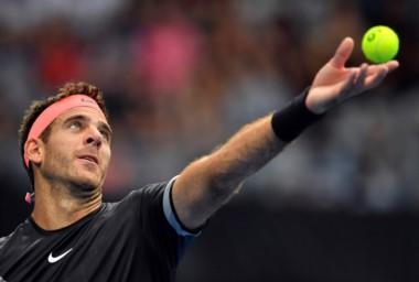 Juan Martín Del Potro subió un lugar en el ranking ATP y se ubica noveno.