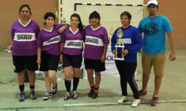 En Damas, Deportivo Fem, Las Chapitas y 28 de Julio, hicieron el 1, 2, 3.