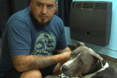 Herrera contó cómo halló a su perro y que lo vivió como si hubieran baleado a uno de sus hijos.