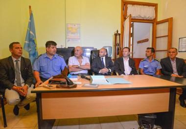 En la Unidad Regional. Desde la Secretaría de Seguridad se trabajará en conjunto con Trelew en diferentes acciones contra el delito.