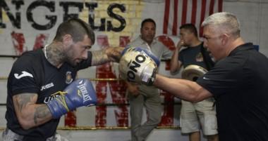 """Lucas Matthysse: """"Estoy entrenando duro para dar una gran pelea""""."""