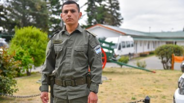 Gendarme Emmanuel Echazú. (Foto: Clarín)