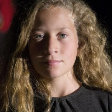 Ahed Tamini, su primo de 17 años fue muerto este miércoles en un enfrentamiento contra el Ejército israelí.