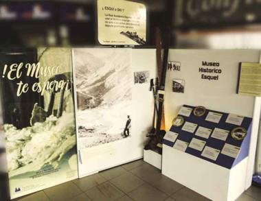 La historia del centro de esquí en una atractiva muestra.