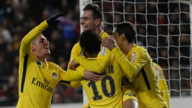 Lo Celso marcó un tanto en la clasificación del PSG.