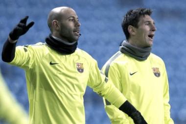 La revelación de Mascherano sobre su relación con Messi y su estadía en Barcelona.